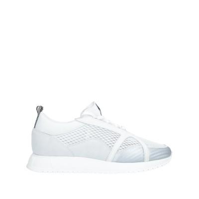 ルコライン RUCOLINE スニーカー&テニスシューズ(ローカット) ホワイト 42 革 / 紡績繊維 スニーカー&テニスシューズ(ローカット)