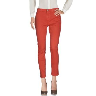 ジェイブランド J BRAND パンツ 赤茶色 25 コットン 98% / ポリウレタン® 2% パンツ