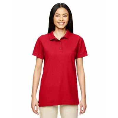 Gildan ギルダン ファッション トップス Gildan Womens Premium Cotton Double Piqu-- Sport Shirt 10 Pack G828L All Sizes