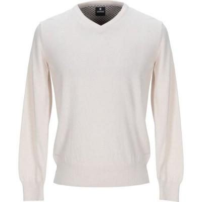 アンドレア フェンツィ ANDREA FENZI メンズ ニット・セーター トップス sweater Ivory