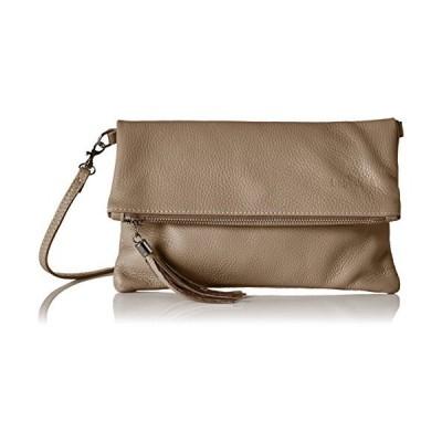Bags4Less Luna, Women's Clutch, Braun (Taupe), 2x18x28 cm (B x H T) 並行輸入品