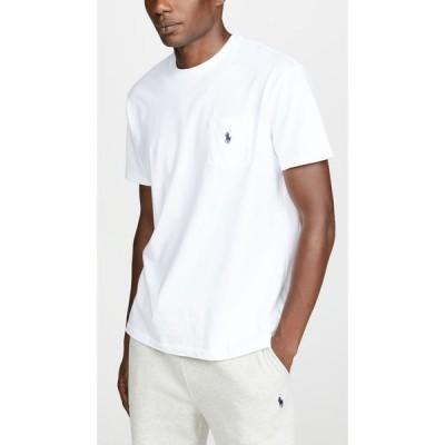 ラルフ ローレン Polo Ralph Lauren メンズ Tシャツ トップス Pocket Tee Shirt White
