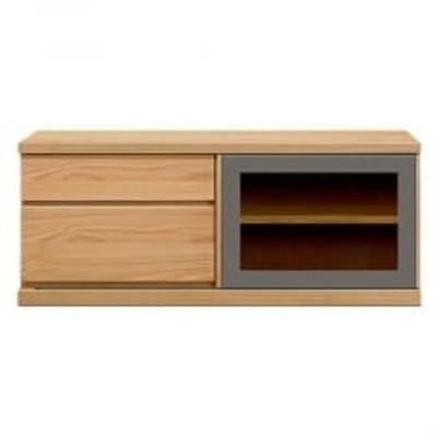 天然木材家具アーザ(ローボード テレビ台・TVボード)140cm ブラックチェリー