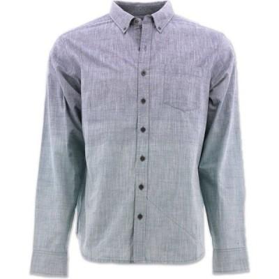 エコス Ecoths メンズ シャツ トップス Marsden Long Sleeve Shirt medieval blue