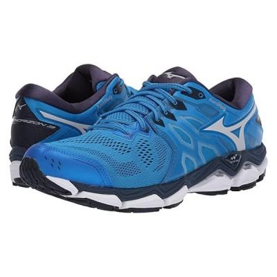 ミズノ Wave Horizon 3 メンズ スニーカー 靴 シューズ Brilliant Blue/Cloud