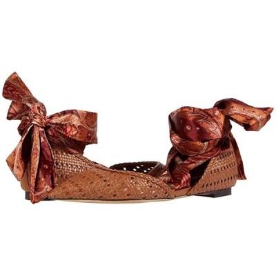 サム エデルマン Sloane レディース フラットシューズ Saddle/Orange Multi Basket Weave Leather/Floral Paisley Scarf Dr