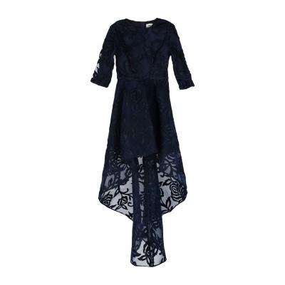 ALLURE ミニワンピース&ドレス ダークブルー 8 ポリエステル 100% ミニワンピース&ドレス