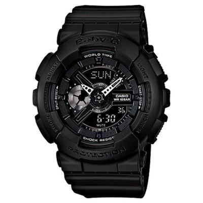 カシオ Baby-G ベビーG ベビージー レディース アナデジ ブラック 10気圧防水 海外モデル BA-110BC-1A あすつく 腕時計