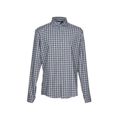 LIU •JO MAN シャツ ブルーグレー XS コットン 60% / ポリエステル 40% シャツ