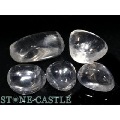 ☆置石一点物☆【天然石 置き石】水晶 (EX) 握り石 (5個セット) No.11