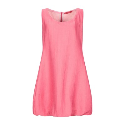CRISTINA ROCCA ミニワンピース&ドレス ピンク 42 レーヨン 85% / ポリエステル 15% ミニワンピース&ドレス