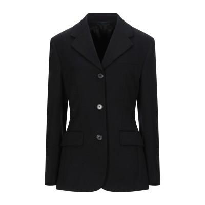 プラダ PRADA テーラードジャケット ブラック 40 ウール 100% テーラードジャケット