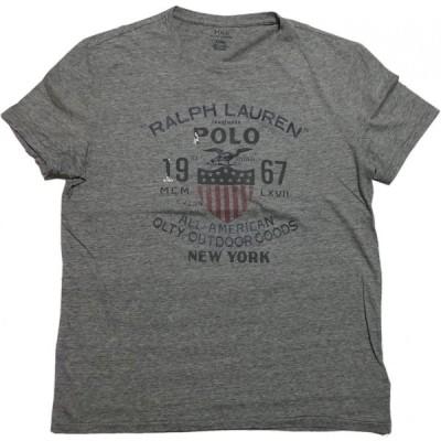 ポロ ラルフローレン 半袖 プリント Tシャツ グレー メンズ Polo Ralph Lauren 308