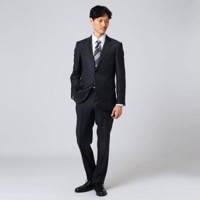タケオ キクチ TAKEO KIKUCHI 【Sサイズ~】シャイニーシャクピンヘッド スーツ (チャコールグレー)