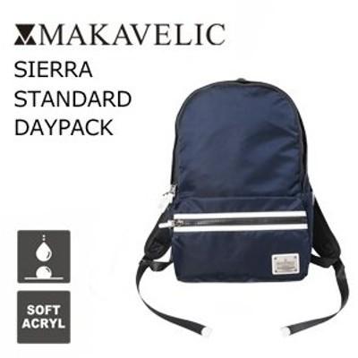 送料無料 MAKAVELIC SIERRA STANDARD DAYPACK NAVY WHITE マキャベリック シエラ スタンダート デイパック ネイビーホワイト