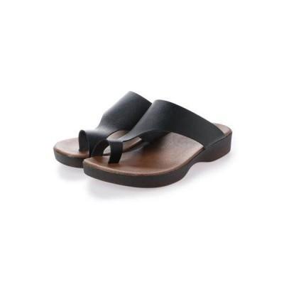 【Polistas/ポリスタス】サンダル メンズ コンフォート カジュアルサンダル 日本製 Braccianoセレクト (BLACK)