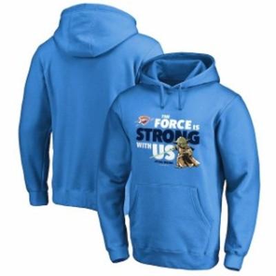 Fanatics Branded ファナティクス ブランド スポーツ用品  Fanatics Branded Oklahoma City Thunder Blue Star Wars Jedi Strong Pullove