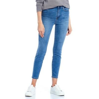 セレブリティピンク レディース デニムパンツ ボトムス High Rise Medium Wash Ankle Skinny Jeans