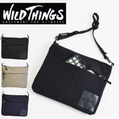 WILDTHINGS ワイルドシングス サコッシュ ナイロン ショルダーバッグ メンズ レディース WT-380-0137
