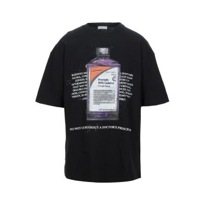 IH NOM UH NIT T シャツ ブラック XS コットン 100% T シャツ