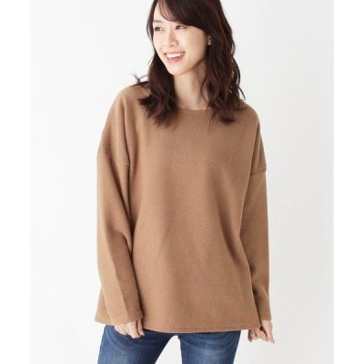 tシャツ Tシャツ メランジレイヤードプルオーバー