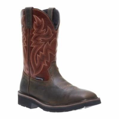 ウルヴァリン ブーツ Rancher Waterproof Square Toe Wellington Steel-Toe