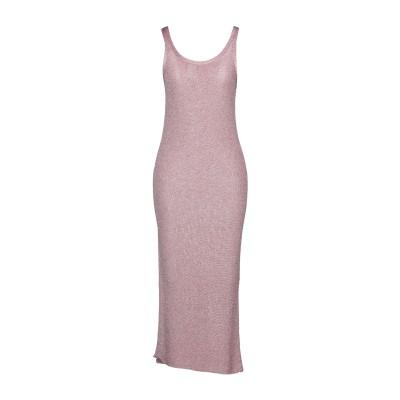 ラネウス LANEUS ロングワンピース&ドレス ピンク 38 レーヨン 66% / ポリエステル 34% ロングワンピース&ドレス