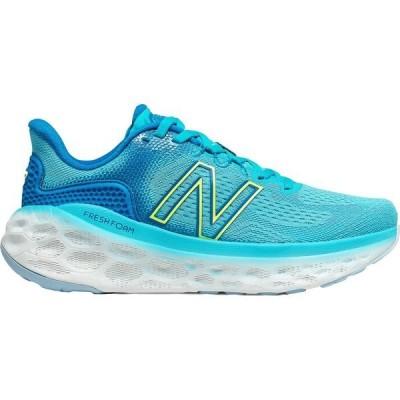 ニューバランス シューズ レディース ランニング New Balance Women's Fresh Foam More V3 Running Shoes Blue/Lime