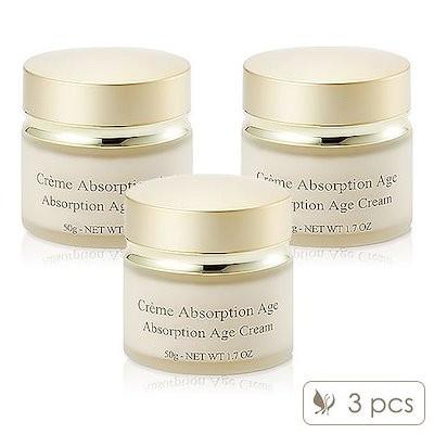 3Pcs Lilyth d or Absorption Age Cream 50g