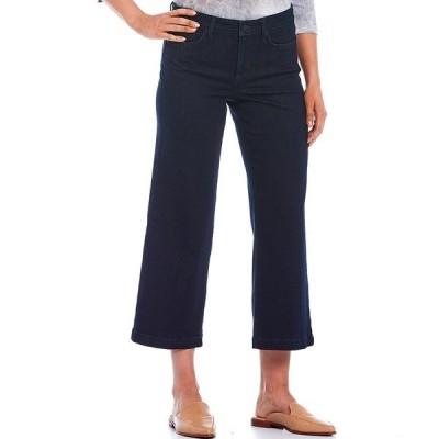 エヌワイディージェイ レディース デニムパンツ ボトムス Teresa Wide-Leg Ankle Jeans Rinse