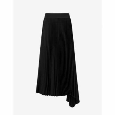 ジョゼフ JOSEPH レディース ひざ丈スカート スカート Sabin Pliss Woven Midi Skirt Black