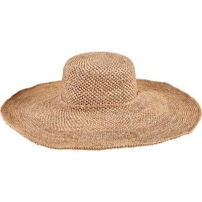 サンディエゴハット レディース 帽子 アクセサリー Crochet Raffia Floppy Wide Brim Hat RHX2609