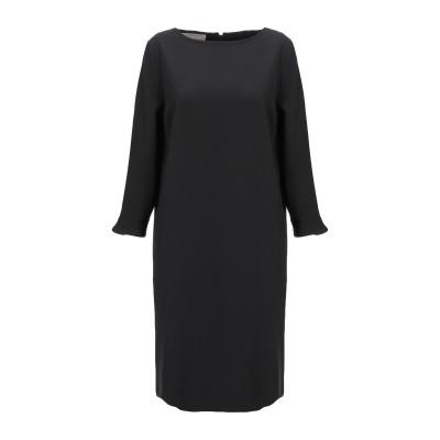 STEFANEL ミニワンピース&ドレス ブラック 38 ポリエステル 87% / ポリウレタン 13% ミニワンピース&ドレス