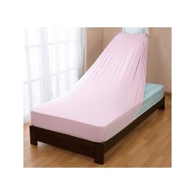 ベッドにフィットするのびのびボックスシーツ シングル 80×180×32cm 全周ゴム入 抗菌防臭加工 吸汗速乾 敷き布団カバーのびのびシーツ ベッドシーツ