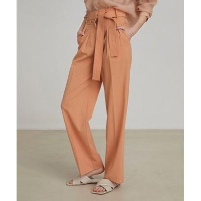 chuclla / 【UNSPOKEN】color belted pants FAZ20188chw WOMEN パンツ > スラックス