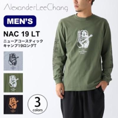 AlexaderLeeChang アレキサンダーリーチャン ニューアコースティックキャンプ19ロングT メンズ Tシャツ 長袖 AC011921