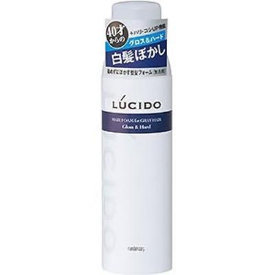 ルシード 白髪用整髪フォーム グロス&ハード 185g
