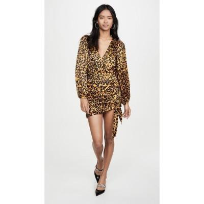 ロニー コボ Ronny Kobo レディース ワンピース ワンピース・ドレス Giorgia Dress Leopard Gold Multi