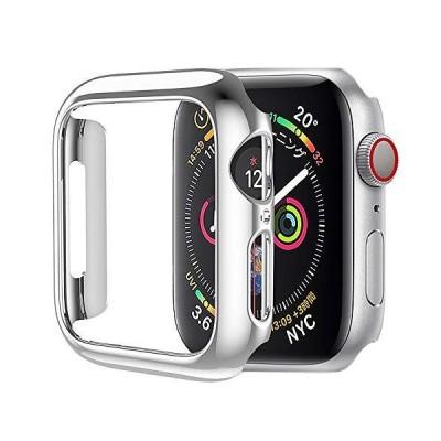 HOCO コンパチブル Apple Watch6/SE/5/4 ケース アップルウォッチ カバー 44mm メッキ PC素材 軽量超簿 耐衝撃性 脱着