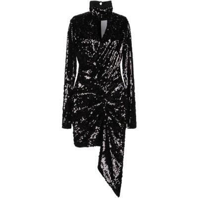 ピンコ PINKO ミニワンピース&ドレス ブラック 38 ポリエステル 100% ミニワンピース&ドレス