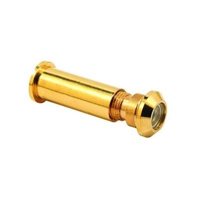 Prime-Line MP4019-5 Door Viewer, 160-Degree, 1/2-Inch Diameter, Polished Br