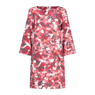 BIANCOGHIACCIO ミニワンピース&ドレス フューシャ 40 ポリエステル 95% / ポリウレタン 5% ミニワンピース&ドレス