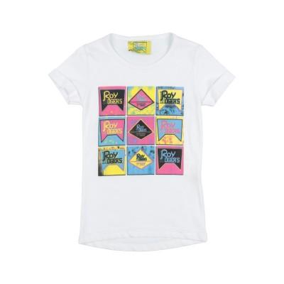 ロイ ロジャース ROŸ ROGER'S T シャツ ホワイト 24 コットン 100% T シャツ