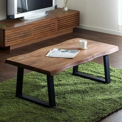テーブル リビングテーブル 座卓 センターテーブル 木製 kohaku walnut 110(コハク ウォールナット 110)