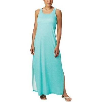 コロンビア レディース ワンピース トップス Columbia Women's Freezer Maxi Dress Dolphin Seaside Swirls Print