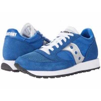 Saucony Originals サッカニー レディース 女性用 シューズ 靴 スニーカー 運動靴 Jazz Original Vintage Blue/White/Silver【送料無料】