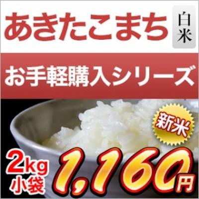 令和2年(2020年) 新米 埼玉県産 あきたこまち 白米 2kg【米袋は真空包装】