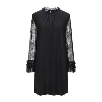 MARIUCCIA ミニワンピース&ドレス ブラック XS ポリエステル 97% / 指定外繊維(その他伸縮性繊維) 3% ミニワンピース&ドレス