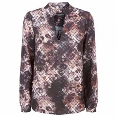 ジュームズ レイクランド James Lakeland レディース ブラウス・シャツ トップス Python Shirt Print