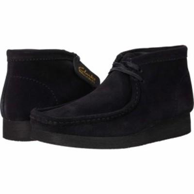 クラークス Clarks メンズ ブーツ シューズ・靴 Wallabee Boot 2 Black Suede